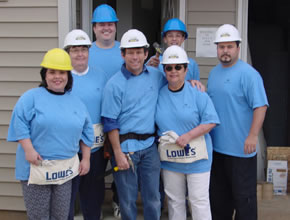 Building a home with Habitat for Humanity