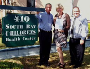 Giving back at South Bay Children's Health Center
